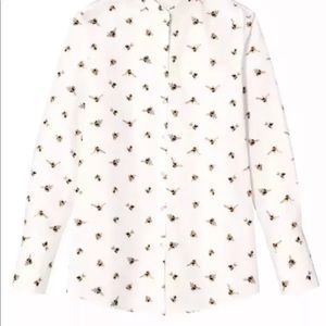 Victoria Beckham for Target Tops - Victoria Beckham for Target bee print blouse 3X